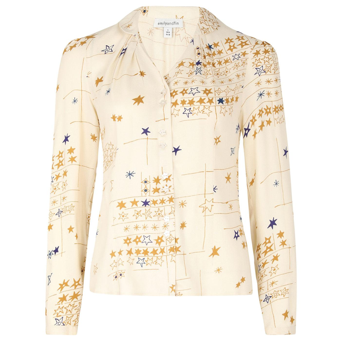 Elspeth EMILY AND FIN Vintage Starry Nights Shirt