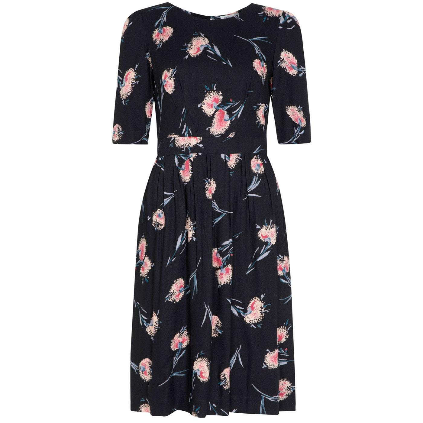 Heather EMILY & FIN Retro Pom Pom Floral Dress