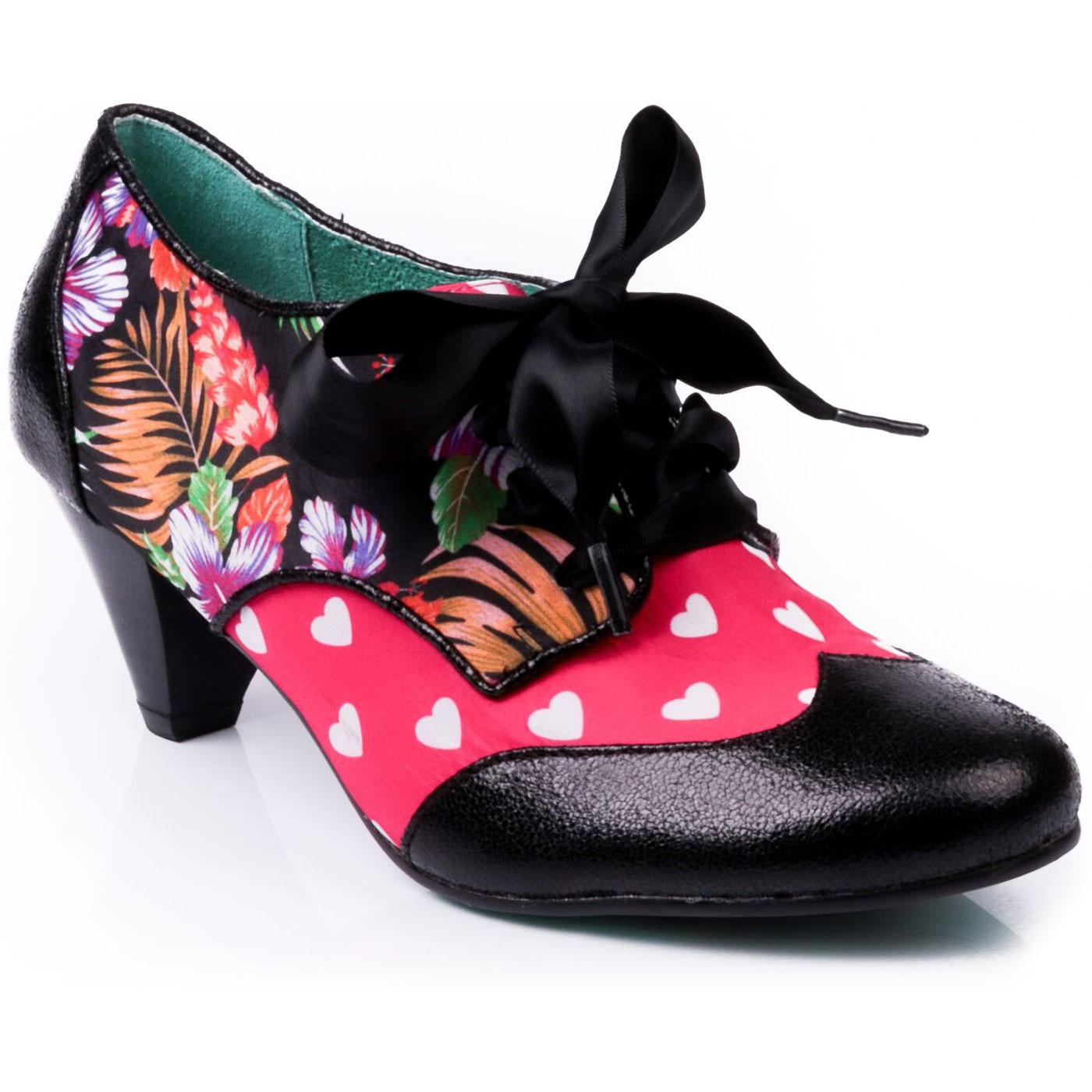 End Of Story POETIC LICENCE Floral & Heart Shoes B
