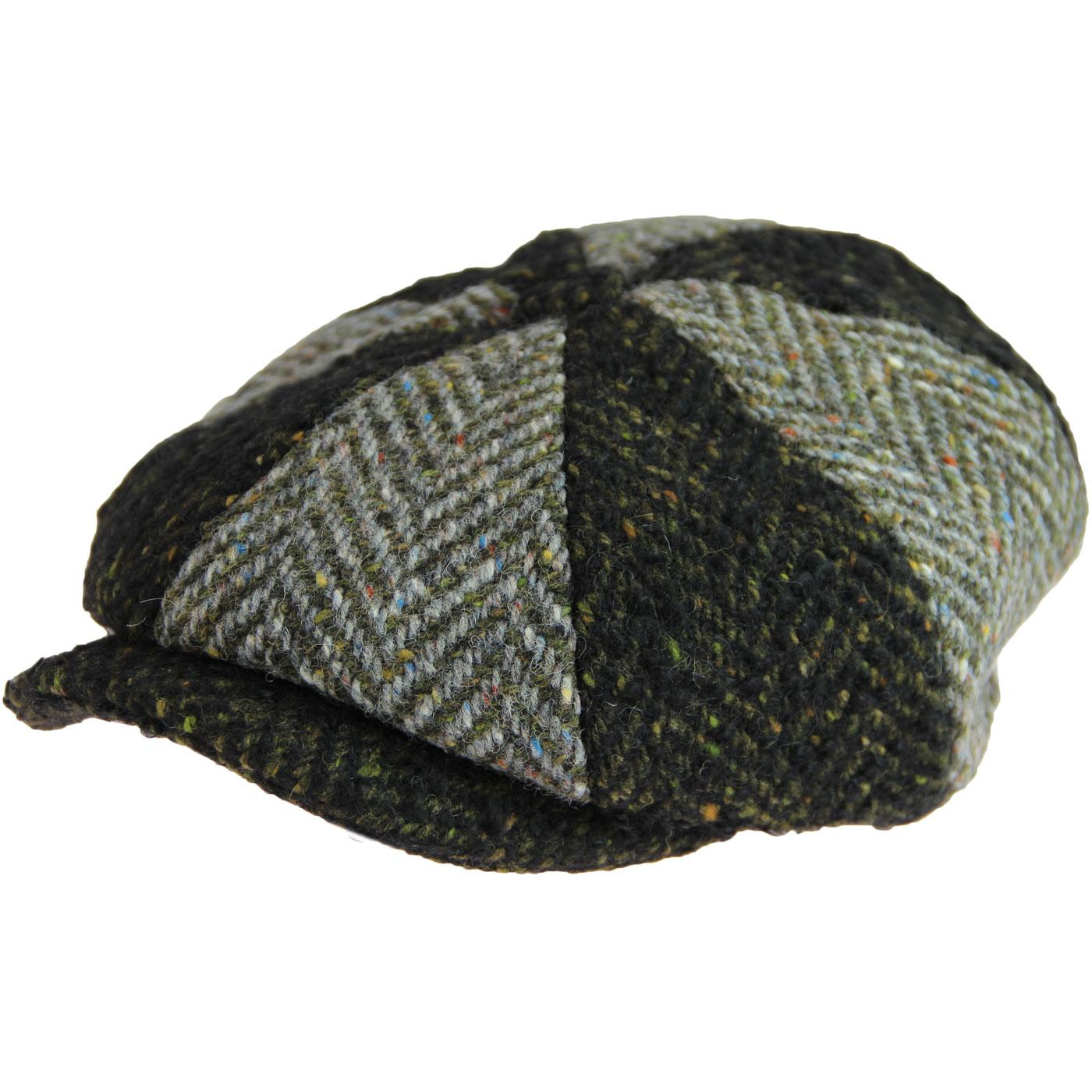 FAILSWORTH Retro 60s Donegal Spitfire Cap (Green)