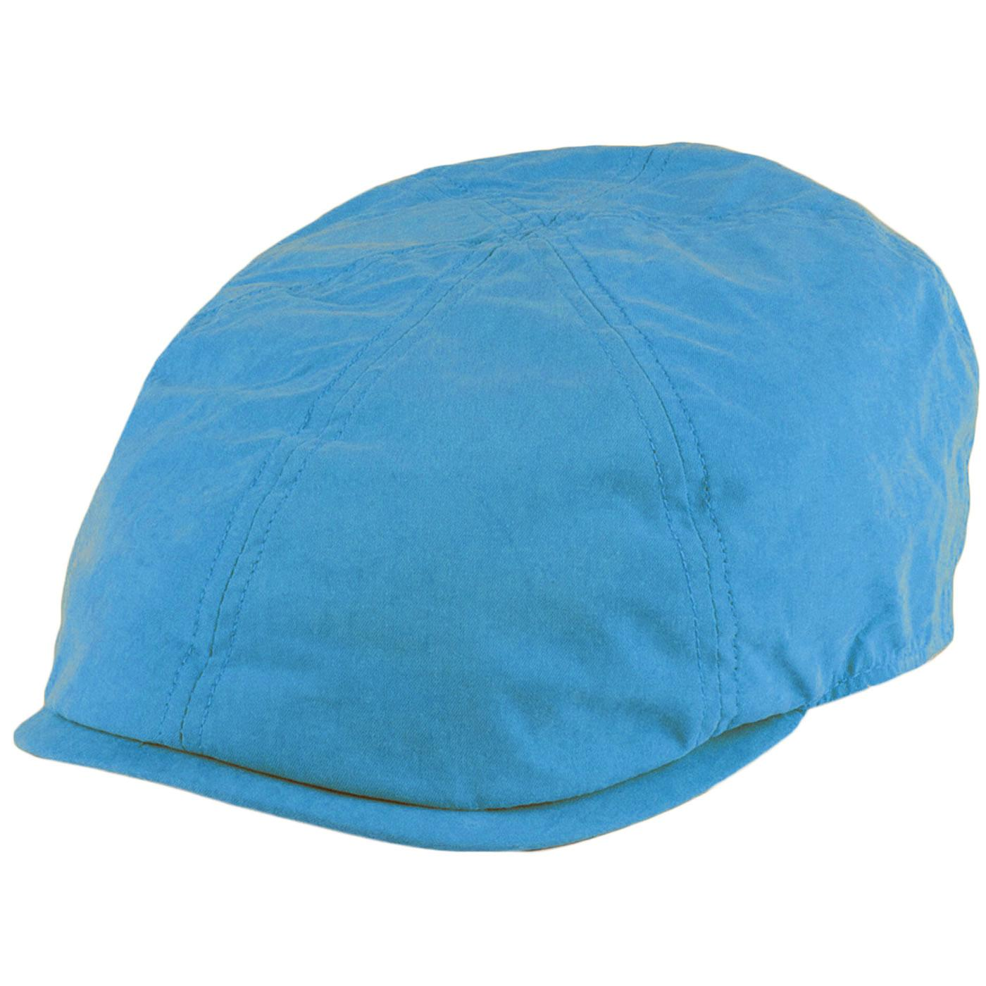 FAILSWORTH Micro 6 Panel Retro Newsboy Cap (Blue)