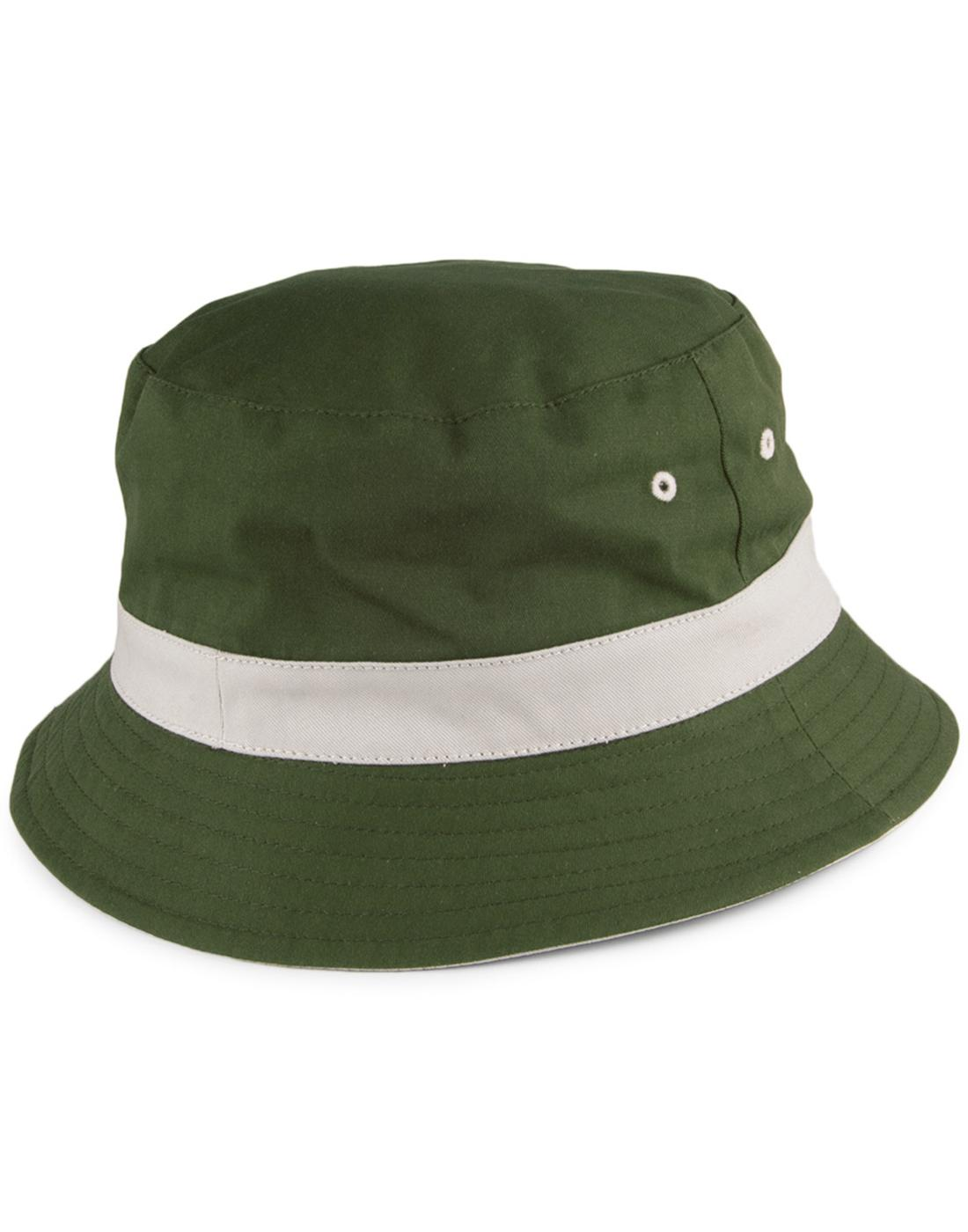FAILSWORTH Retro Britpop Reversible Bucket Hat