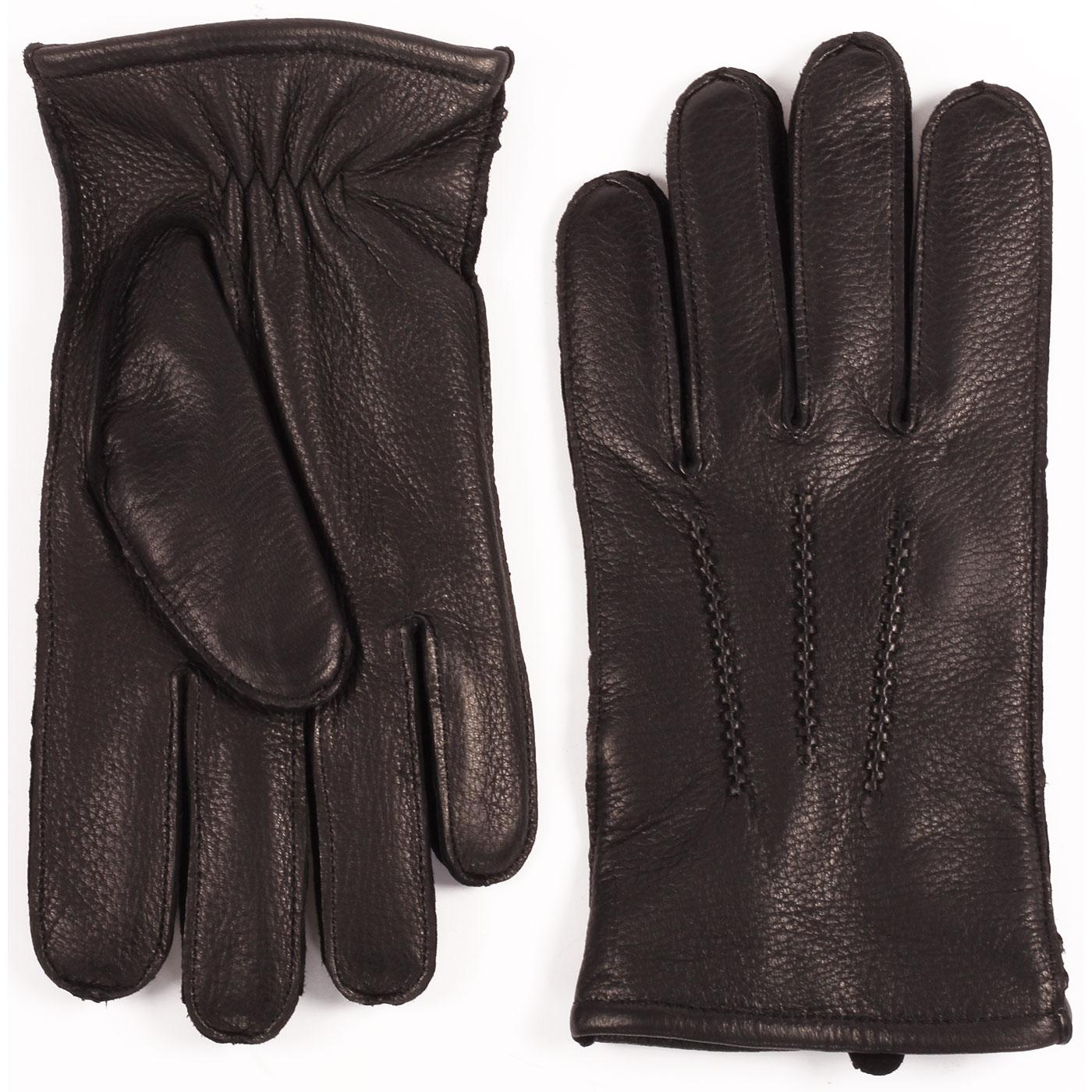 Winston FAILSWORTH Men's Retro Leather Gloves (B)
