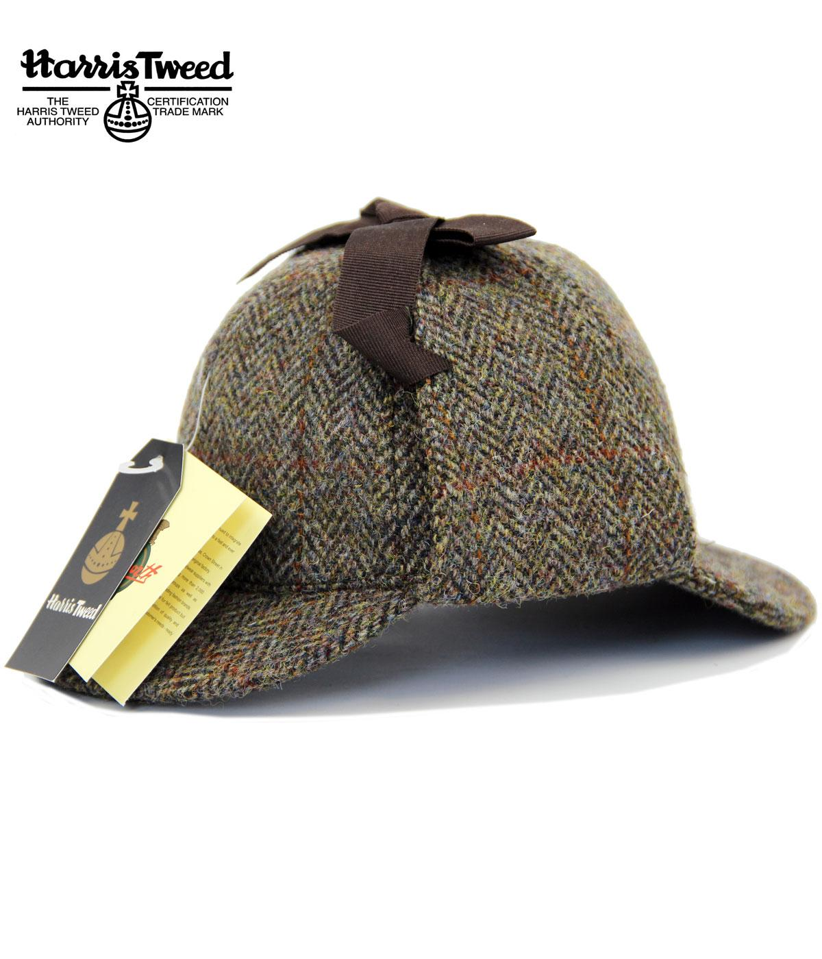 a47062dc283 FAILSWORTH Sherlock Retro Harris Tweed Deestakler Hat