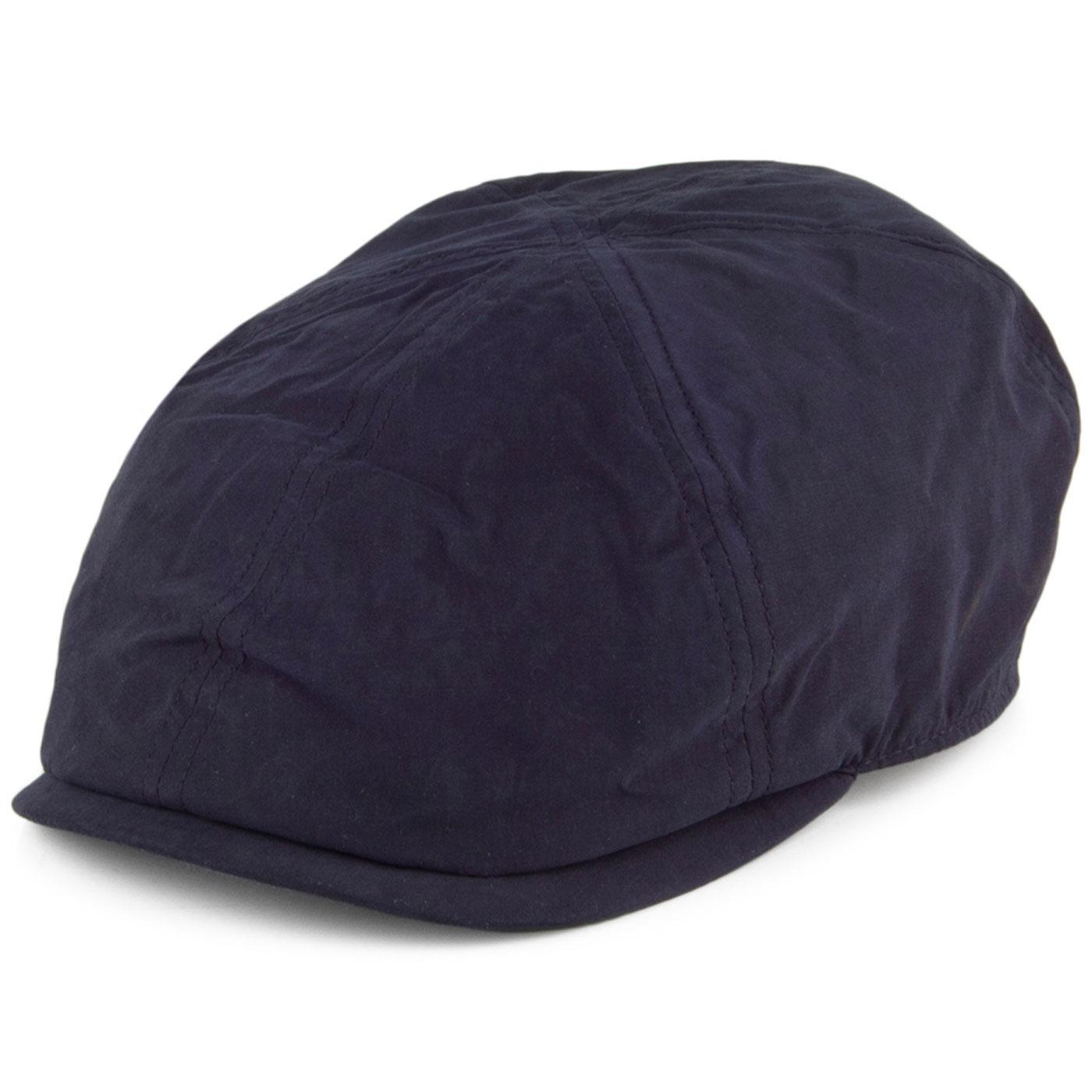 FAILSWORTH Micro 6 Panel Retro Newsboy Cap (Navy)