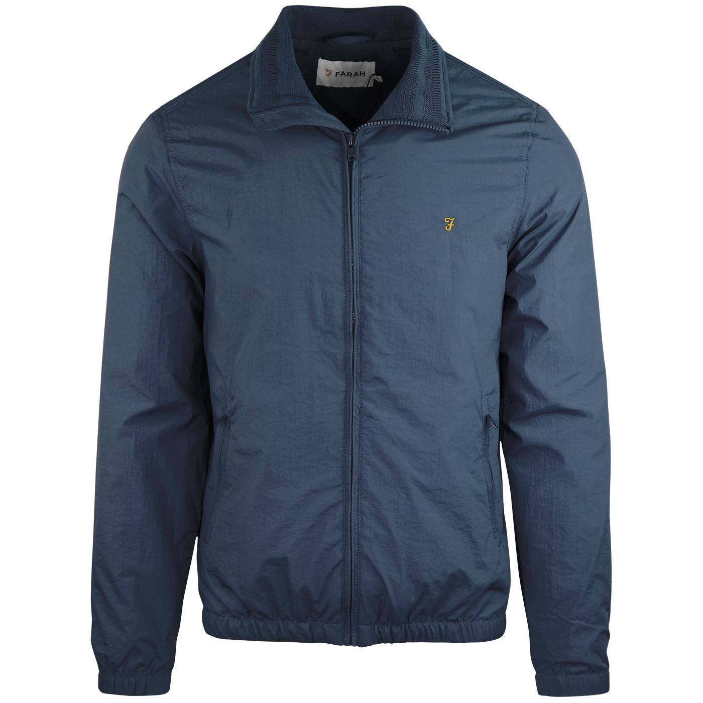 Dougans FARAH Blouson Windbreaker Jacket (Blue)