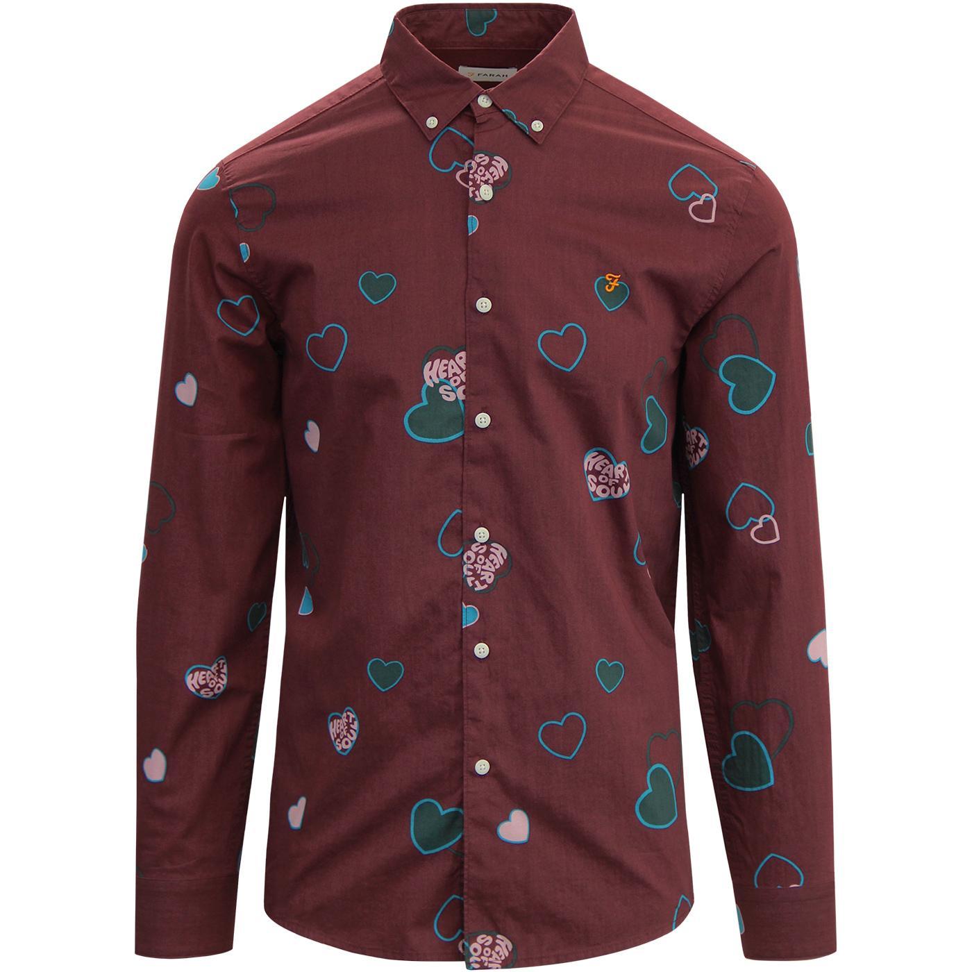 Darrell FARAH Heart Of Soul Northern Soul Shirt FR