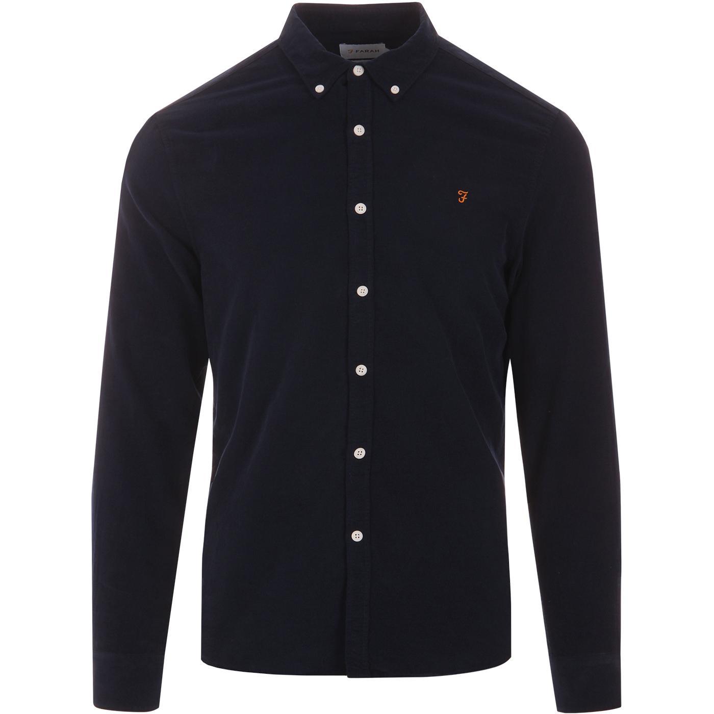 Fontella FARAH VINTAGE Mod Button Down Cord Shirt
