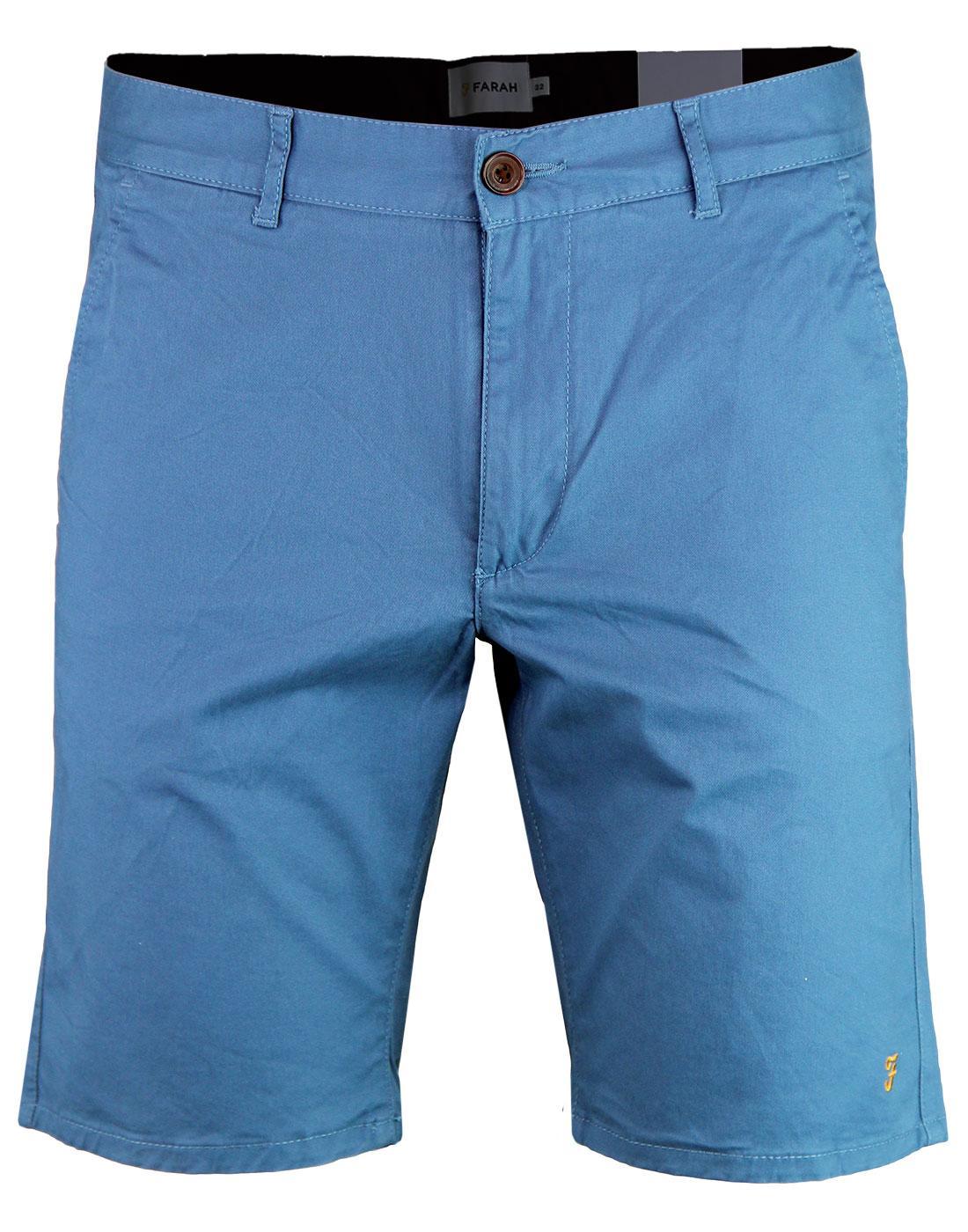 Hawk FARAH Retro 60s Cotton Twill Chino Shorts S