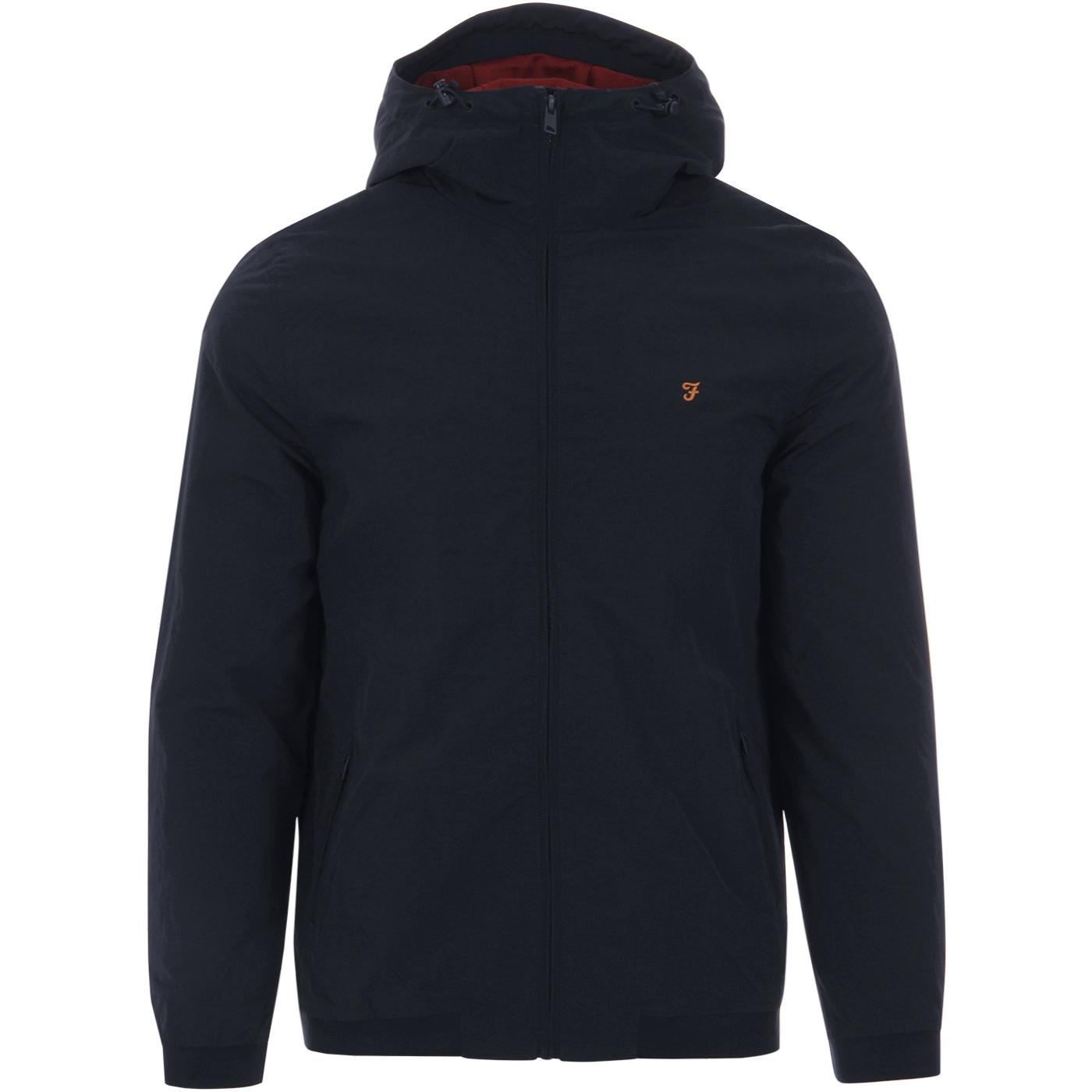 Stones FARAH Retro Mens Hooded Jacket TN