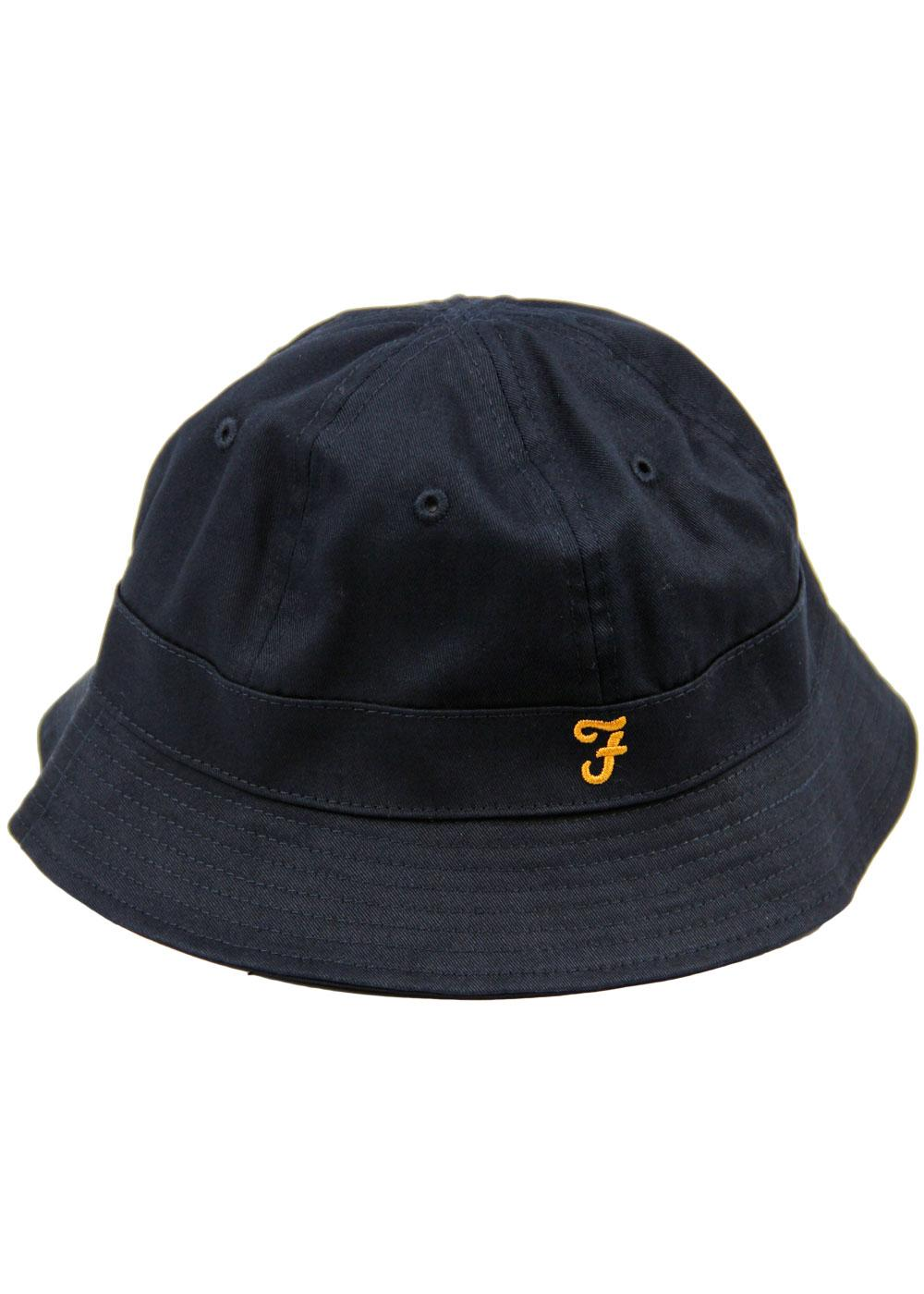 Charter FARAH Retro Indie Cotton Bucket Hat