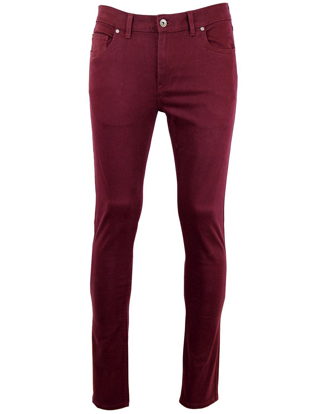Drake FARAH VINTAGE Twill Slim Trousers (B)