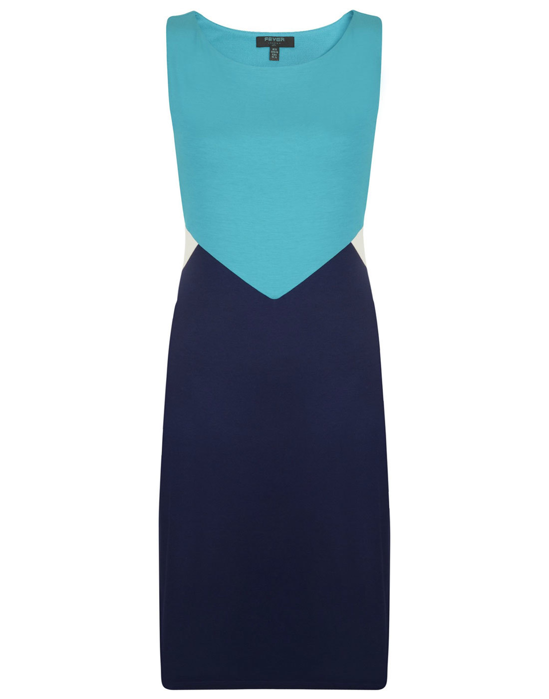 Robin FEVER Retro 1960s Mod Chevron Diamond Dress