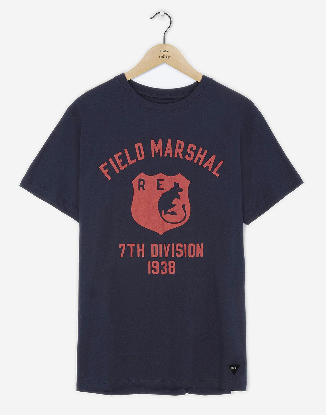 Field Marshal REALM & EMPIRE Retro Desert Rats Tee