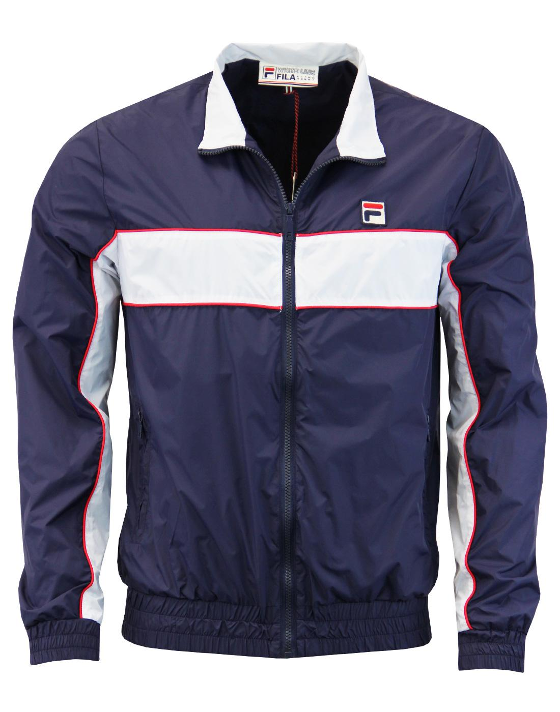 Amauri FILA VINTAGE Retro Indie 70s Sports Jacket