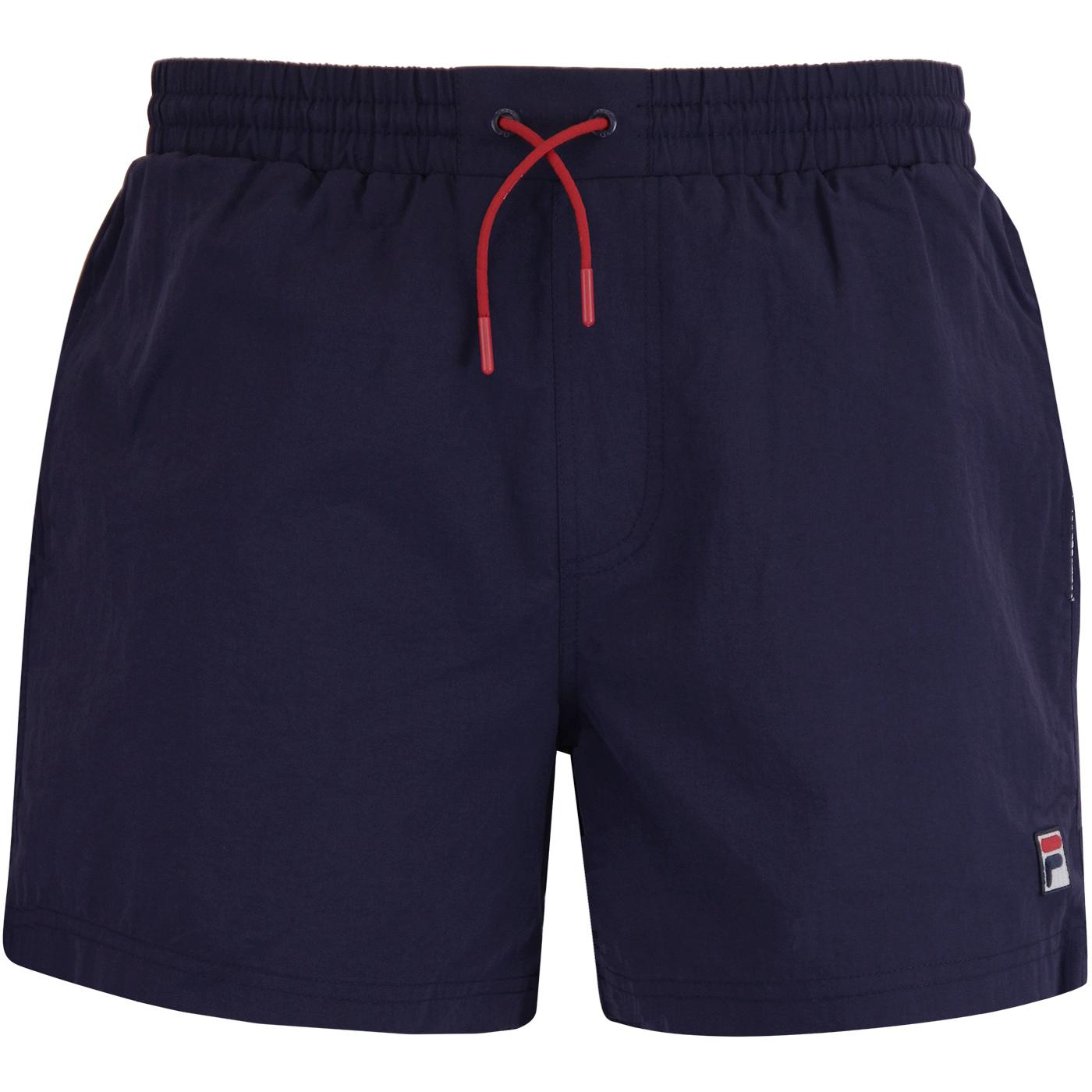 Martin FILA VINTAGE Retro 80s Basic Swim Shorts