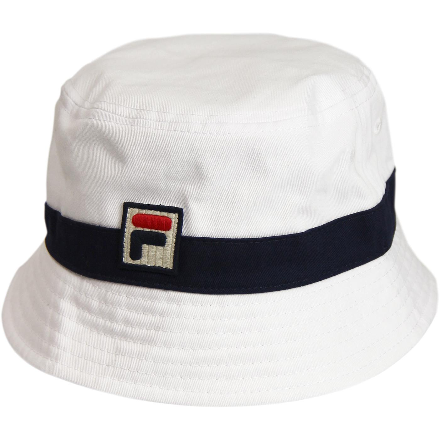 Basil FILA VINTAGE Retro 1990s Bucket Hat (W/P)