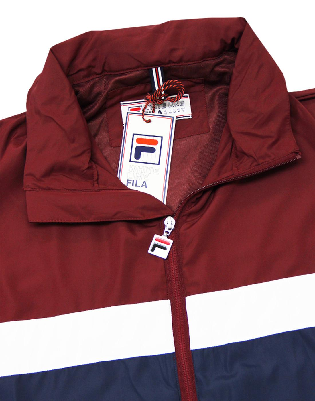 bc64167ca47 FILA VINTAGE Cipolla 2 Retro 80s Casuals Pack Away Panel Jacket