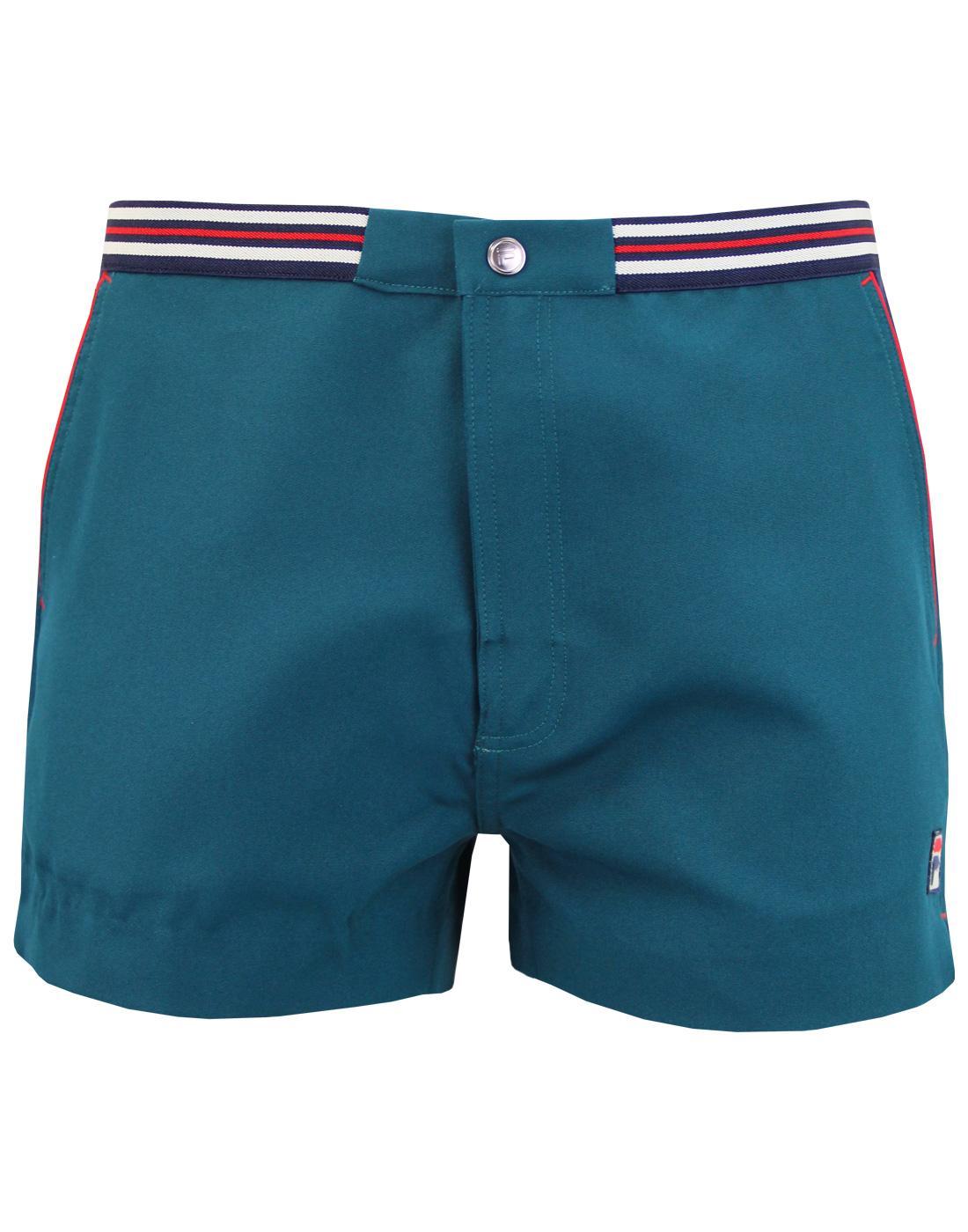 Hightide 4 FILA VINTAGE Mens 70s Tennis Shorts JB
