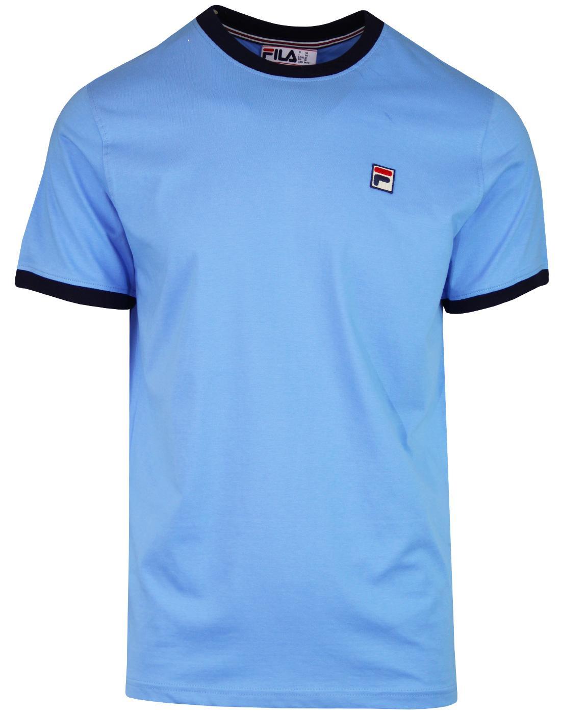 Marconi FILA VINTAGE Retro 80s Ringer T-Shirt (LB)
