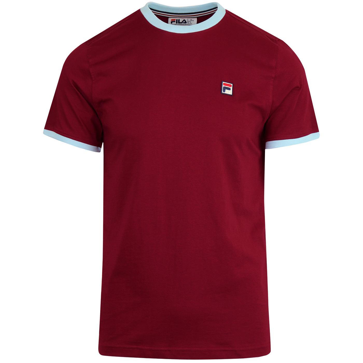 Marconi FILA VINTAGE Retro 70s Ringer T-Shirt (TR)