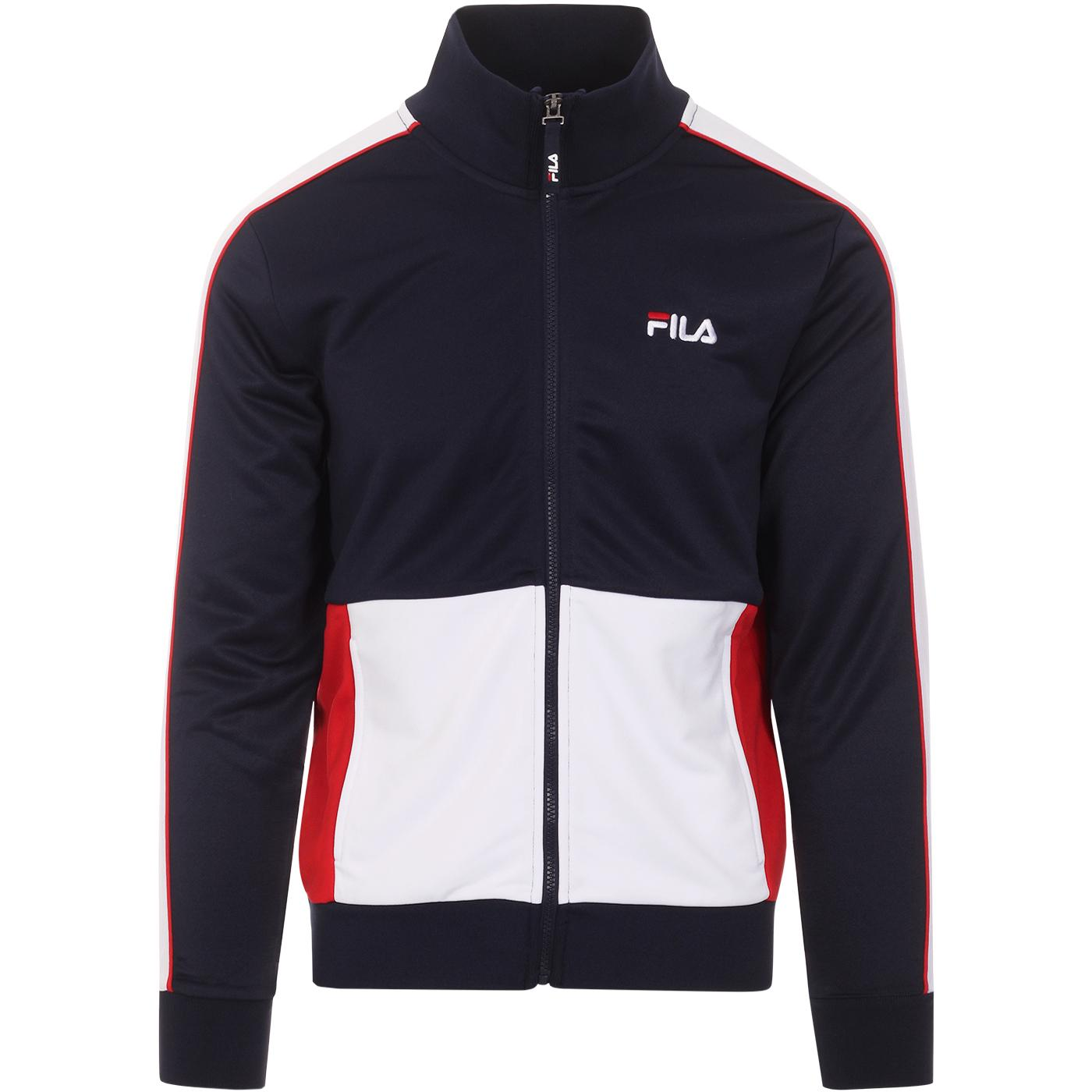 Michele FILA VINTAGE Retro 80s Panel Track Jacket