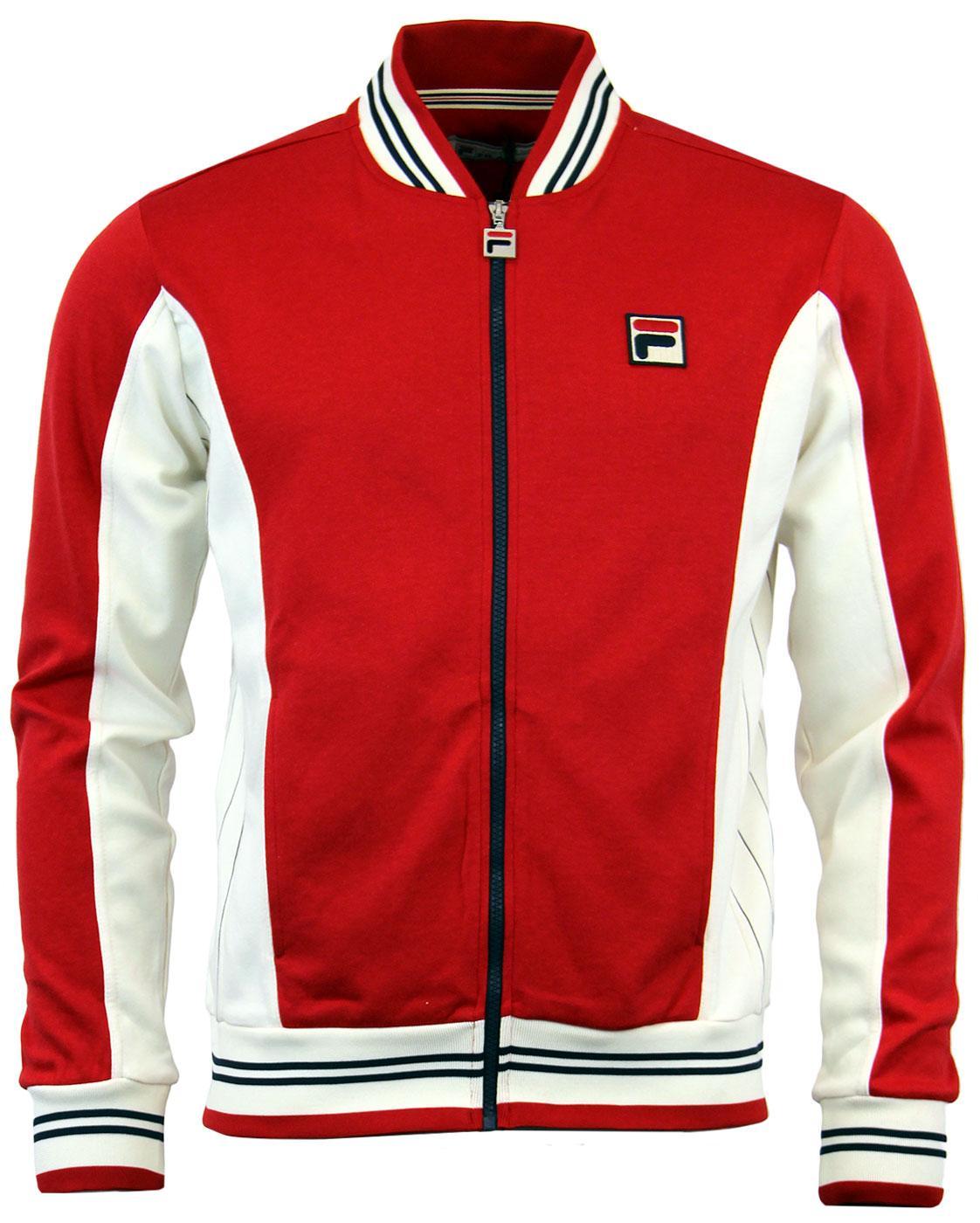 a3ad85a4dffb FILA VINTAGE Legends Settanta Retro 80s Borg Tennis Track Jacket