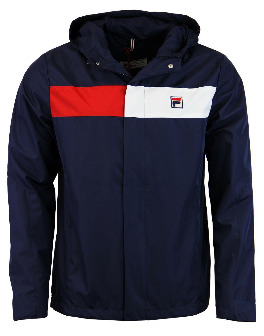 Cardova FILA VINTAGE Retro Seventies Hooded Jacket