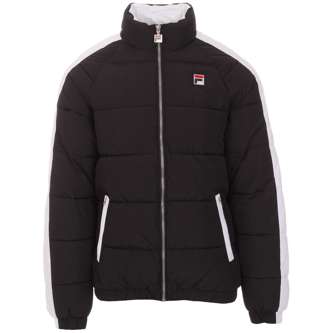 Ledger FILA VINTAGE Retro 1980s Quilted Jacket (B)