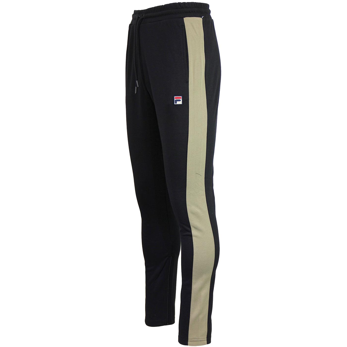 Setter FILA Vintage 1970s Stripe Track Pants BLACK