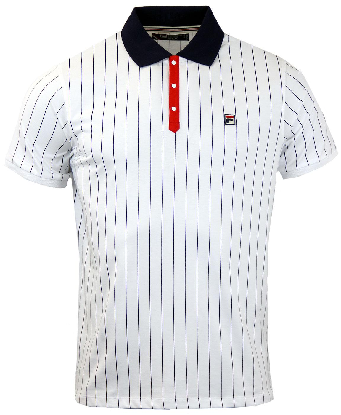BB1 Borg Polo FILA VINTAGE Retro 70s Polo Top (WP)