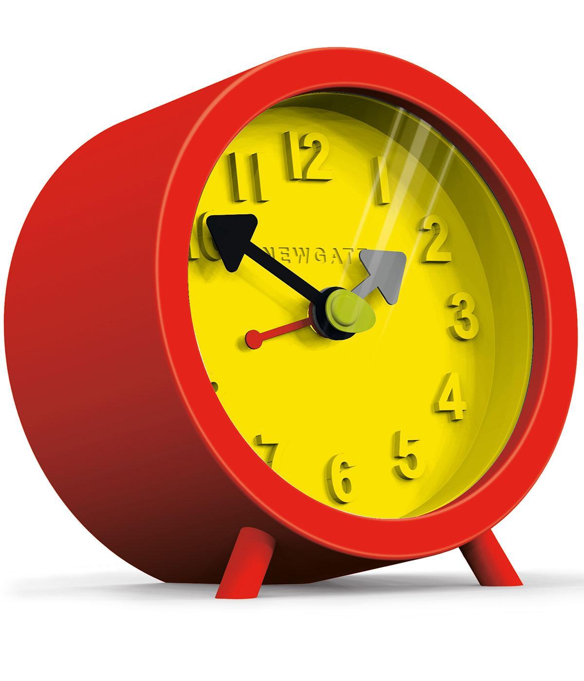 Fred NEWGATE Retro 1960s Mod Barrel Alarm Clock