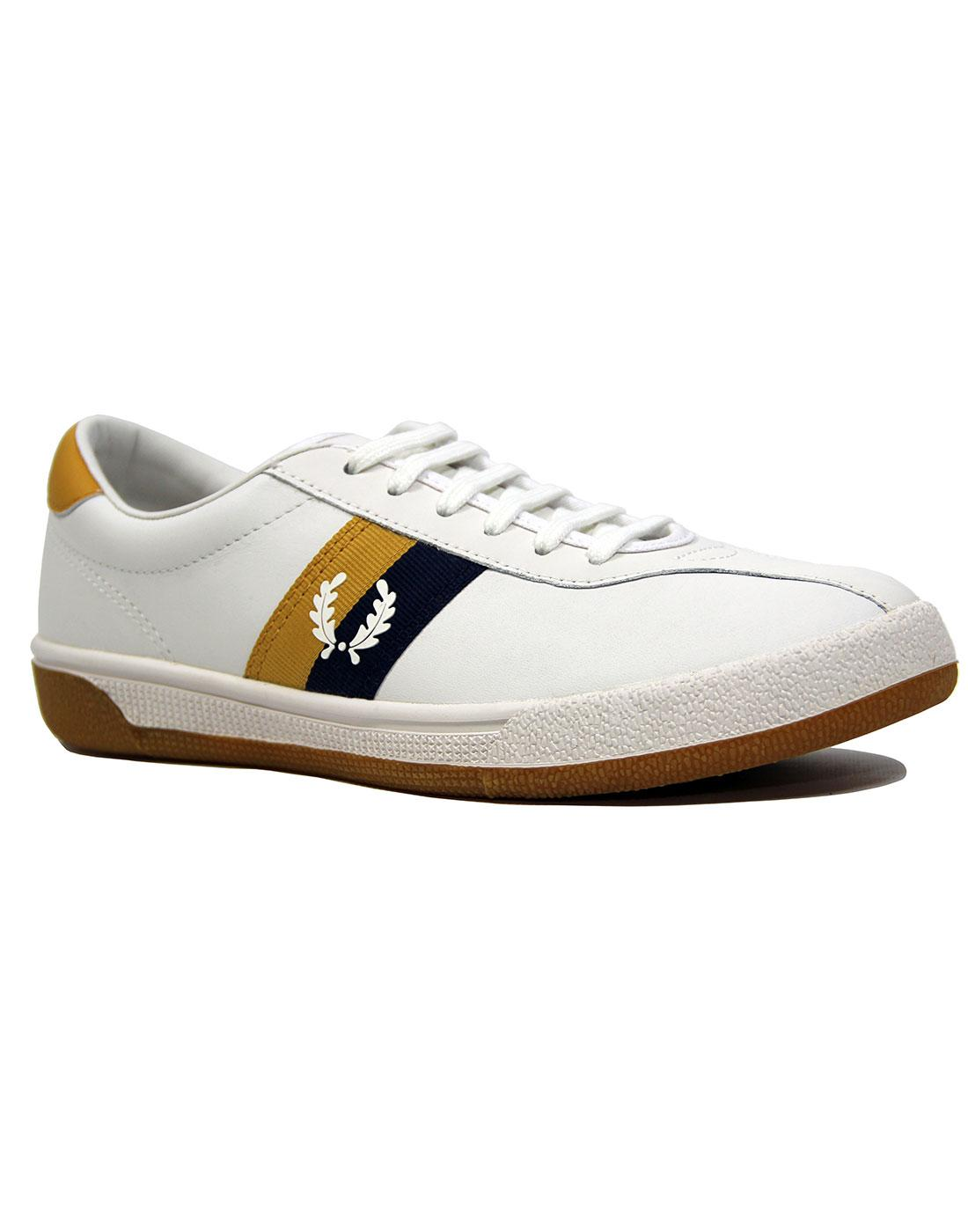 FRED PERRY B103 Retro 70's Tennis Trainers SW