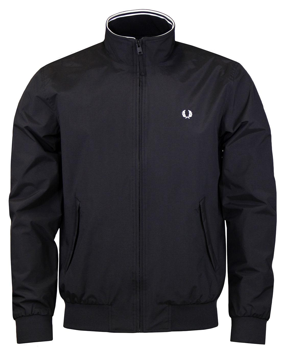 FRED PERRY J2505 Bentham Jacket Black