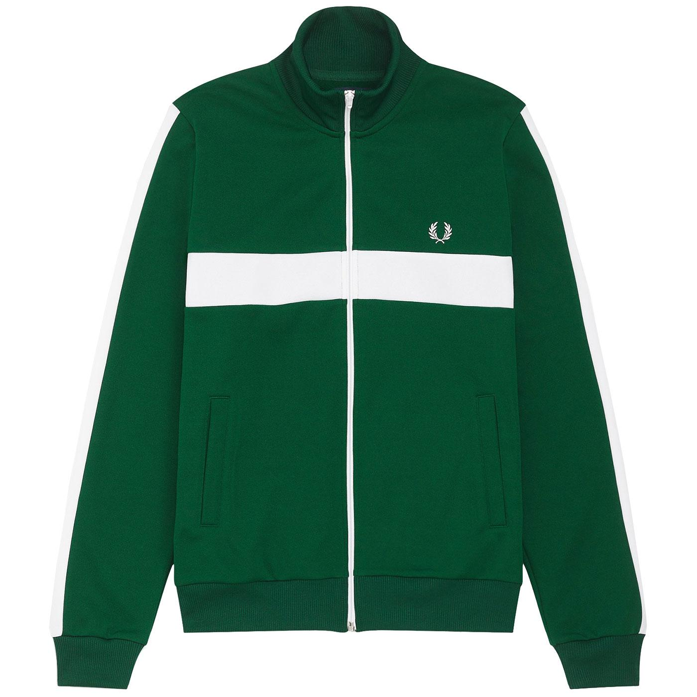 FRED PERRY Men's Retro Contrast Panel Track Jacket