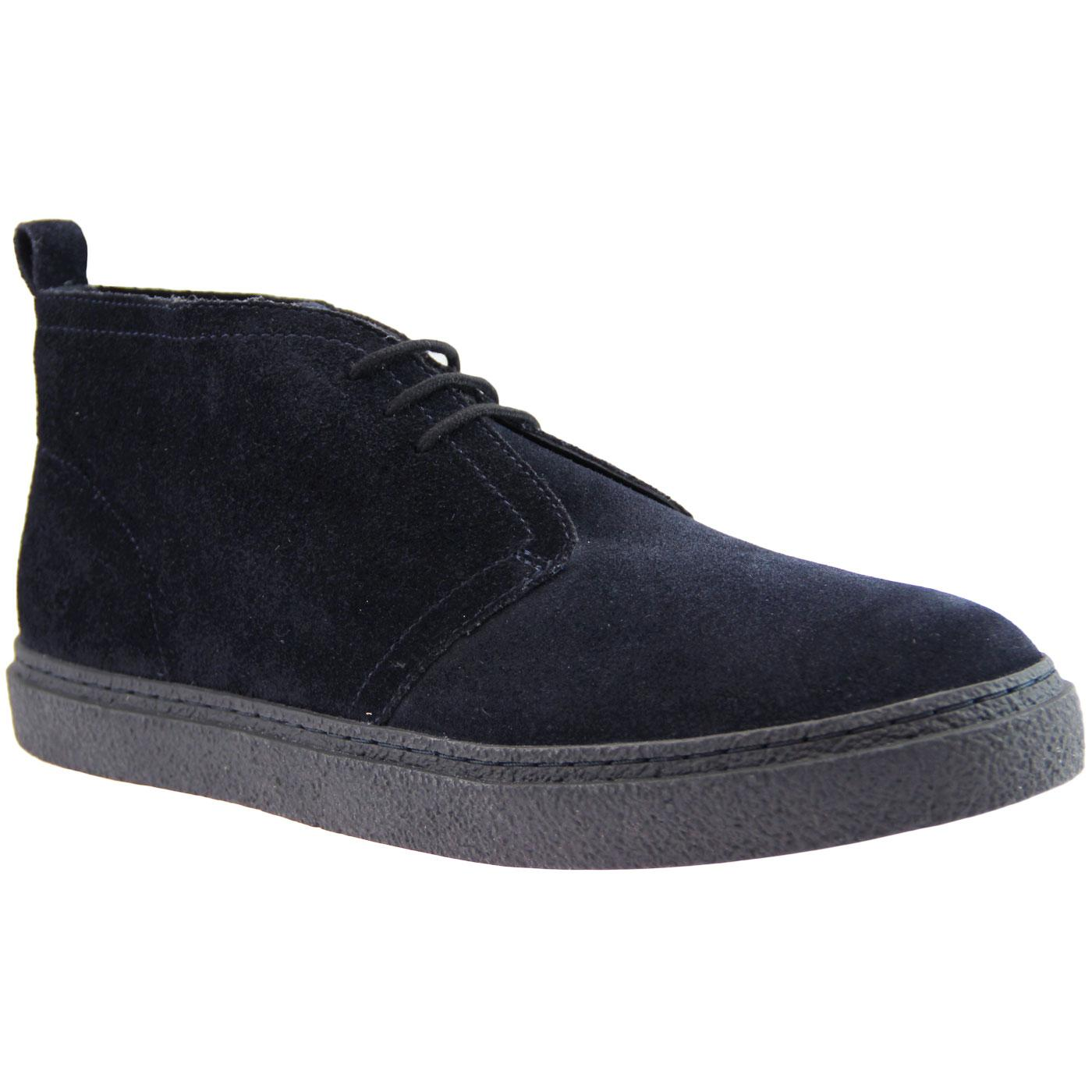 Hawley FRED PERRY Retro Mod Desert Boots - Navy