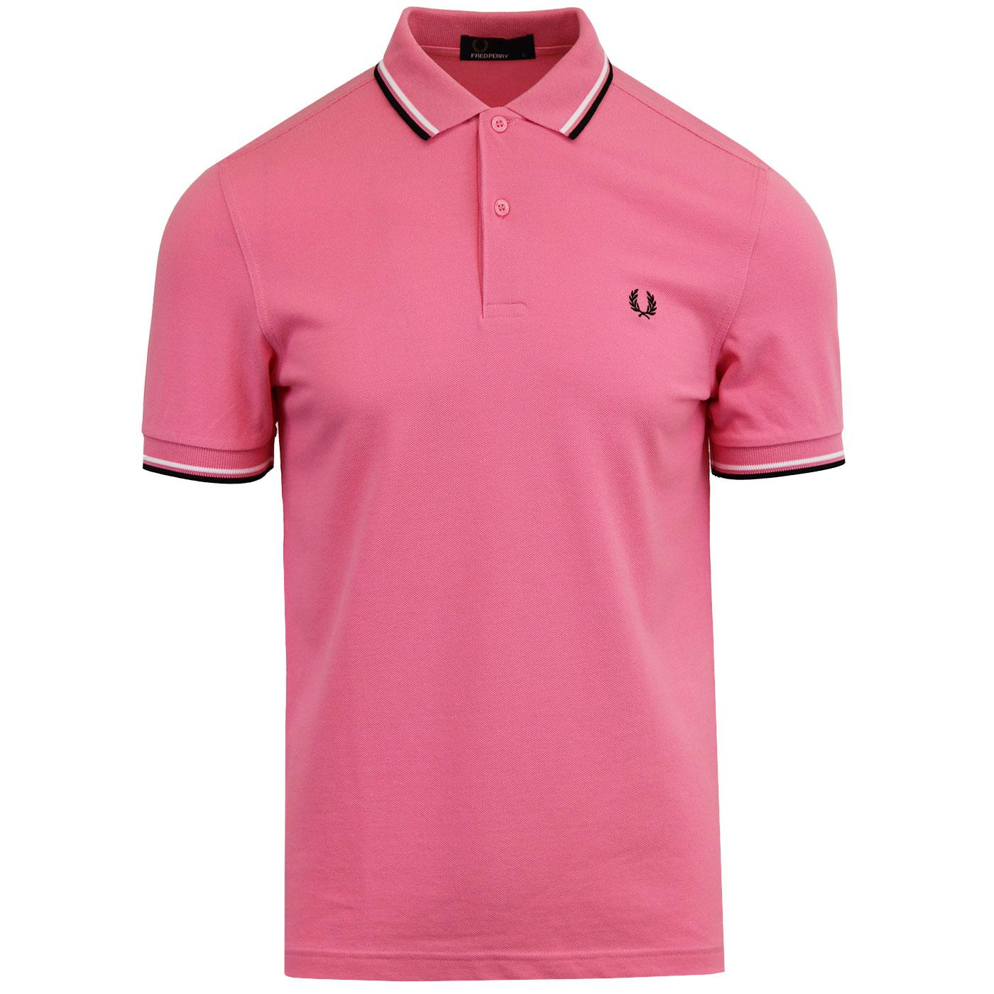 FRED PERRY M3600 Men's Twin Tipped Polo Top BP