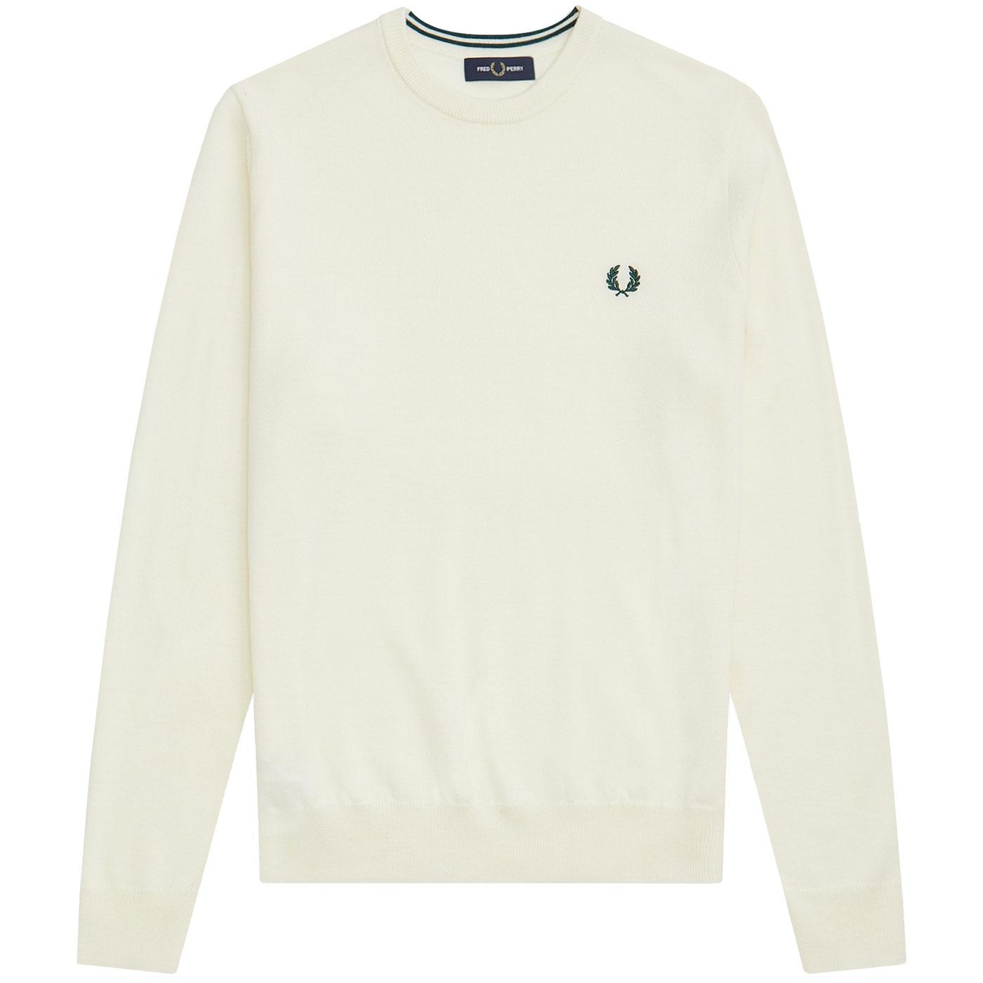 FRED PERRY Men's Mod Knitted Merino Wool Jumper LE