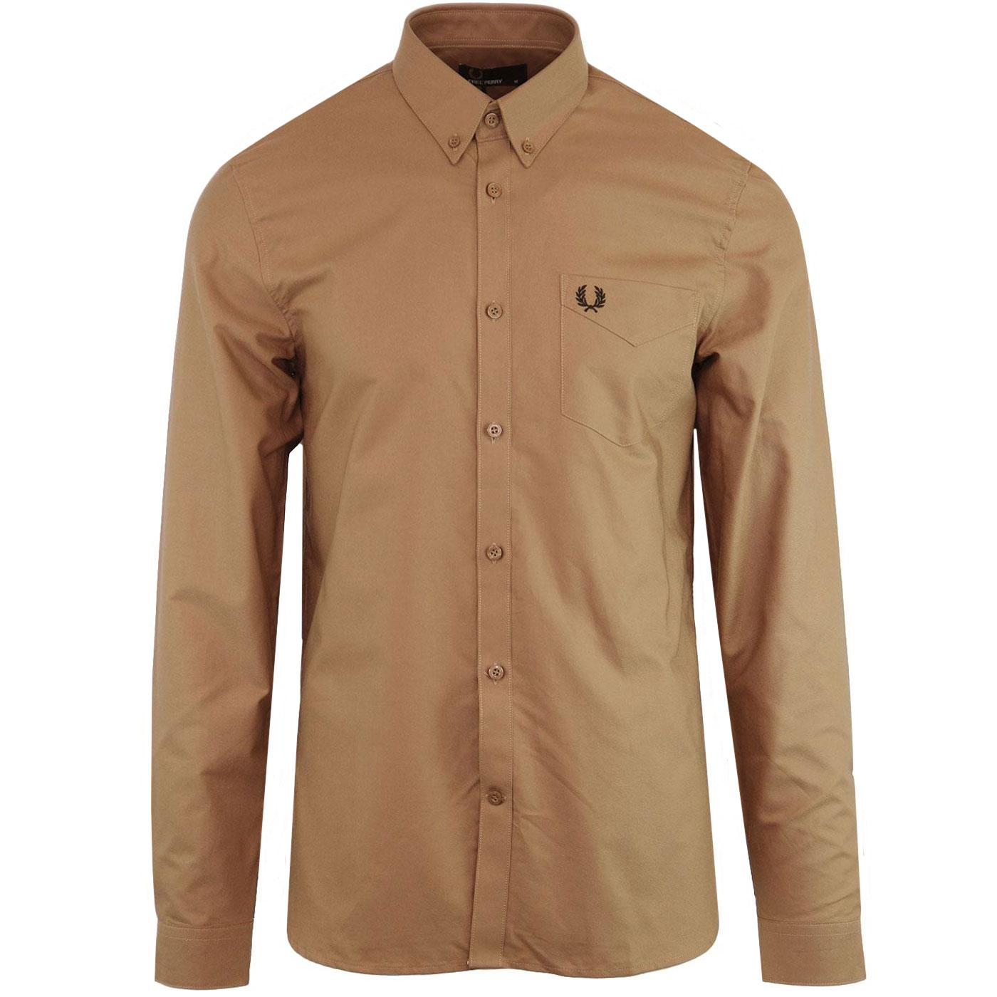 FRED PERRY Men's Classic Mod 60s Oxford Shirt (DC)