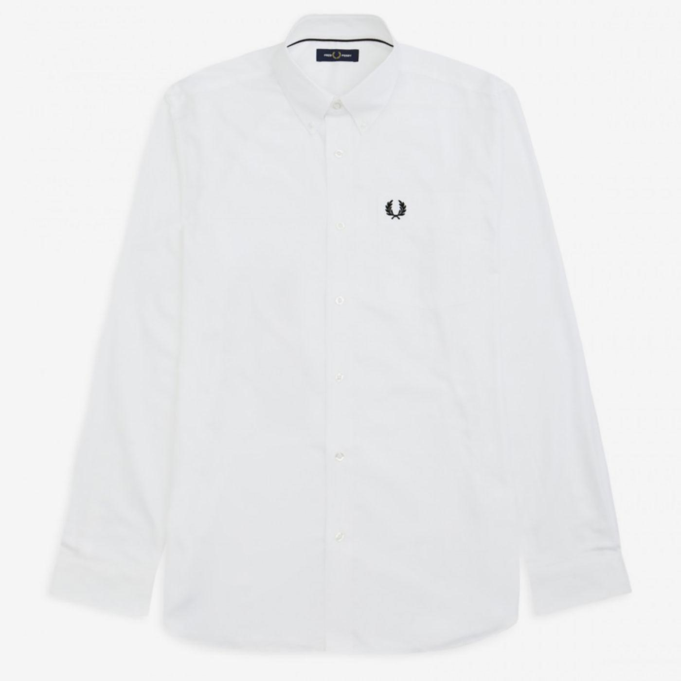 FRED PERRY Retro Mod Button Down Oxford Shirt