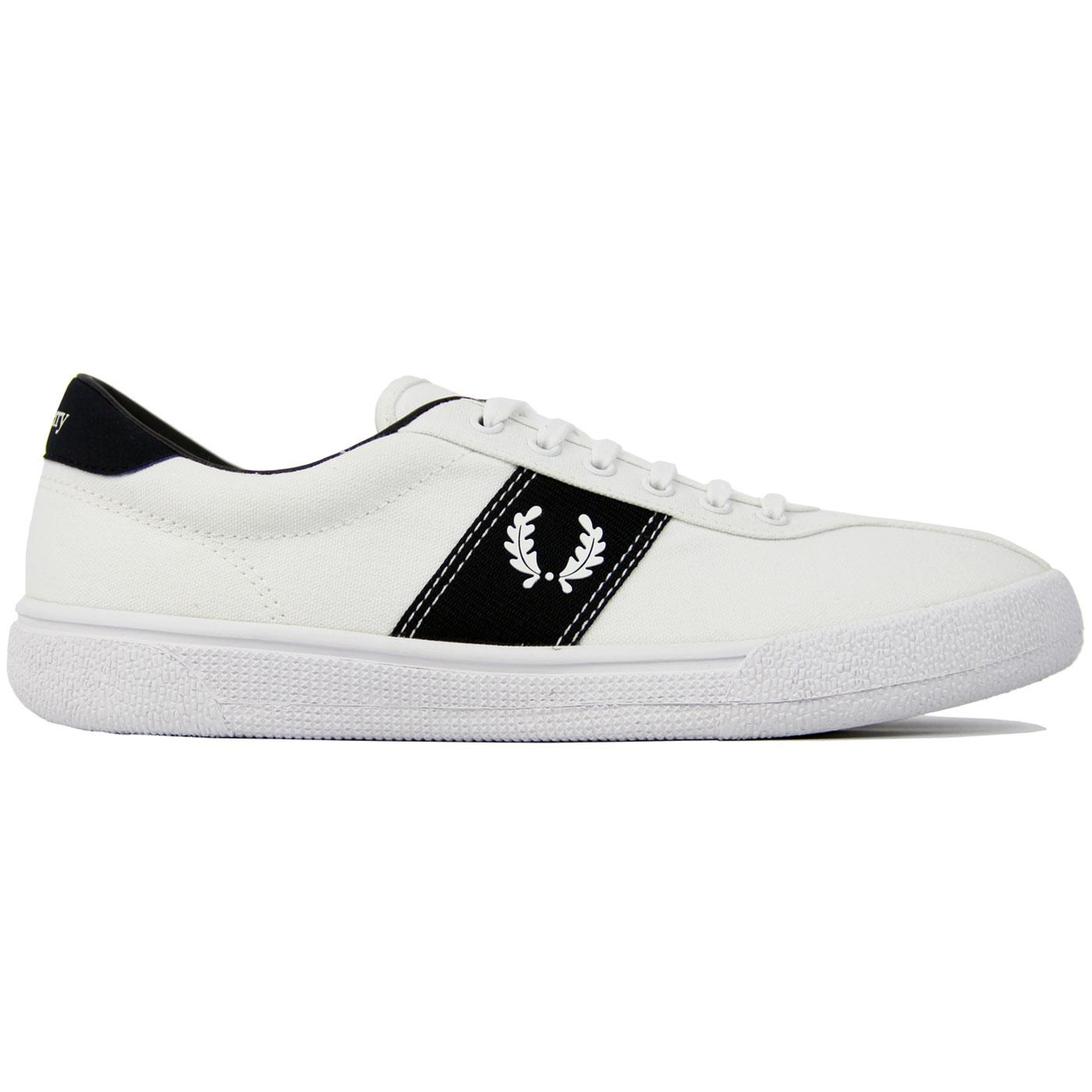 FRED PERRY Mens Retro 70s Authentic Tennis Shoes W