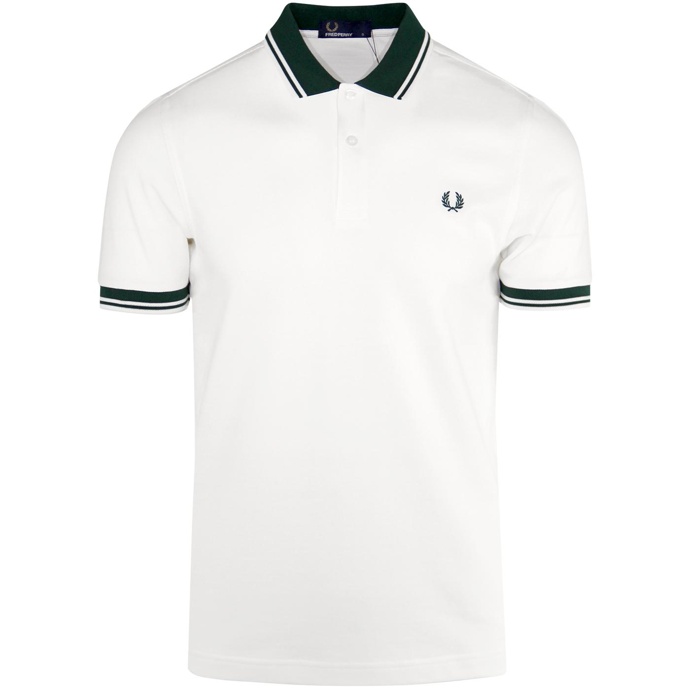 FRED PERRY Mod Twin Tipped Contrast Trim Polo (SW)