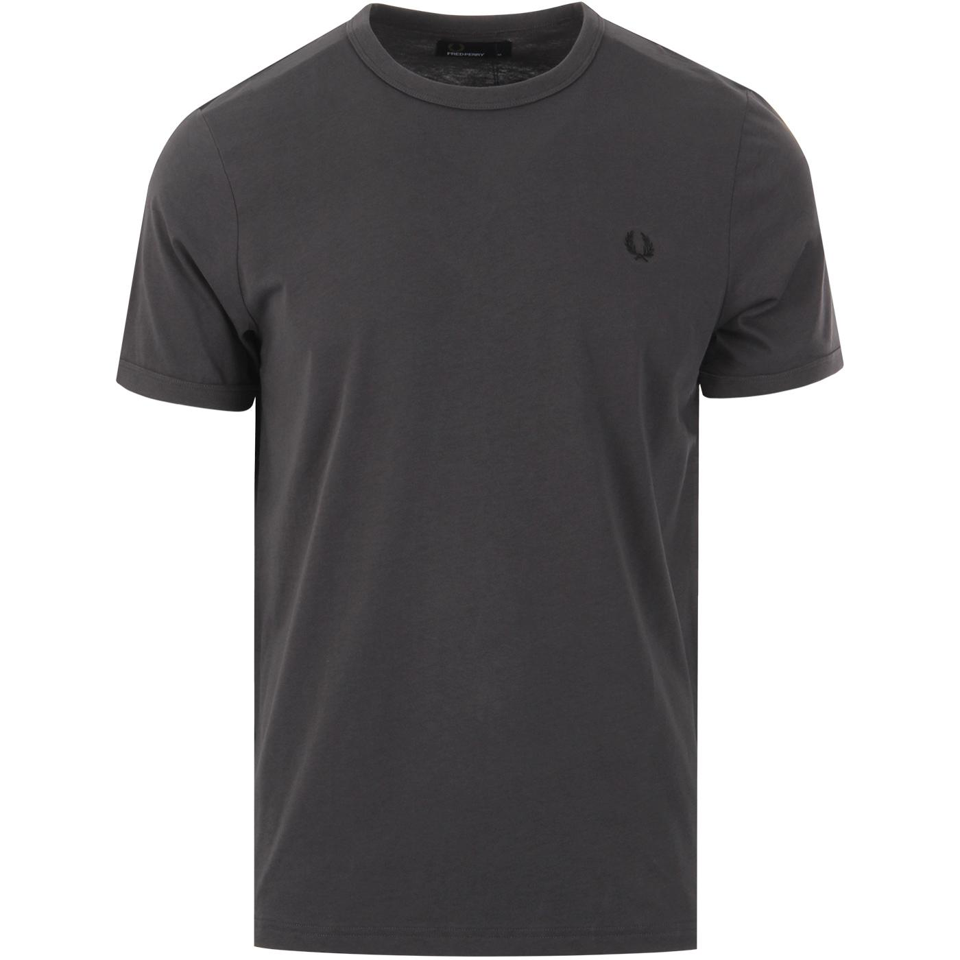 FRED PERRY Retro Mod Crew Neck Ringer T-shirt GM