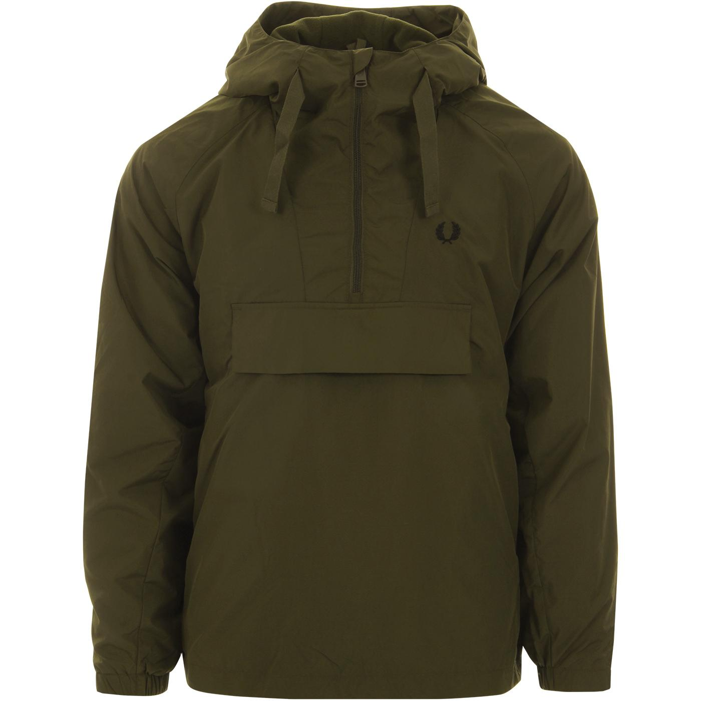 FRED PERRY Men's Mod Overhead Ripstop Jacket DT