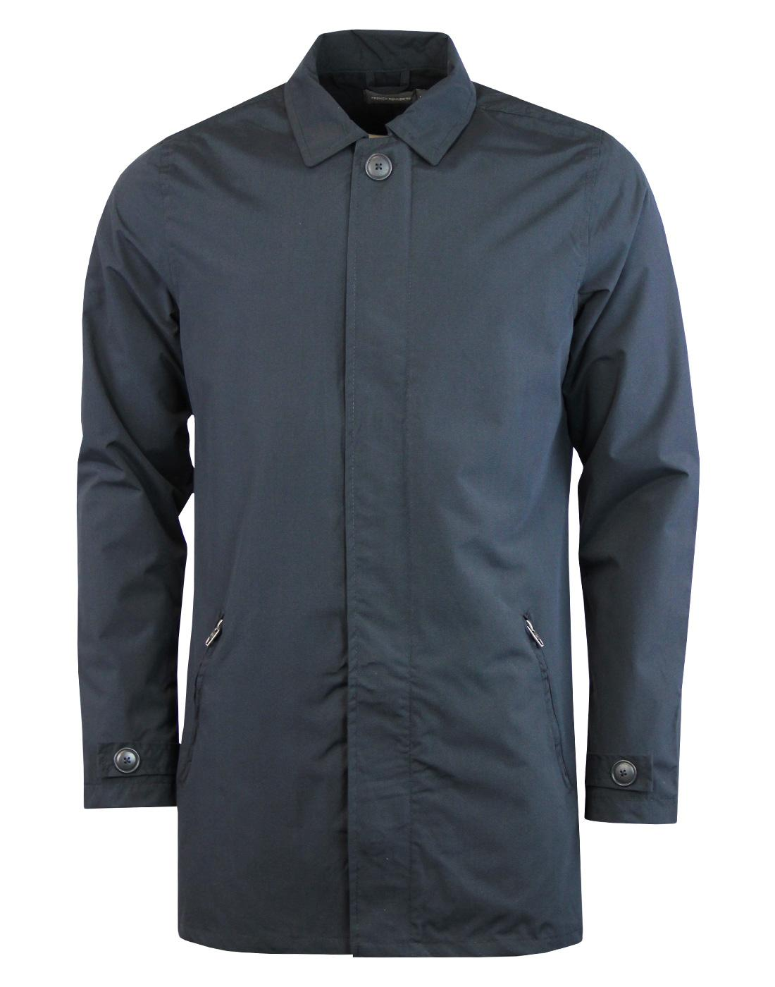 FRENCH CONNECTION Mod Concealed Button Mac Jacket
