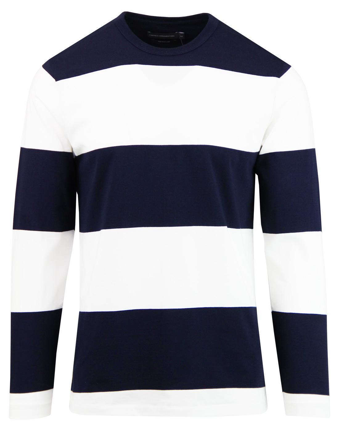 FRENCH CONNECTION Retro Mod Block Stripe T-Shirt
