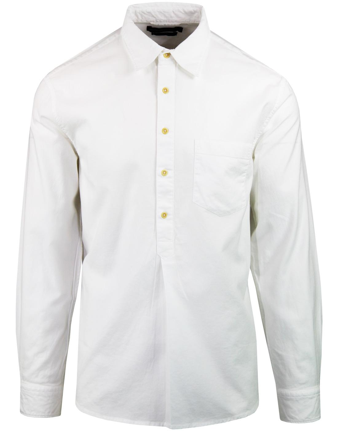 FRENCH CONNECTION Mod Pique Shirting Polo Top (W)