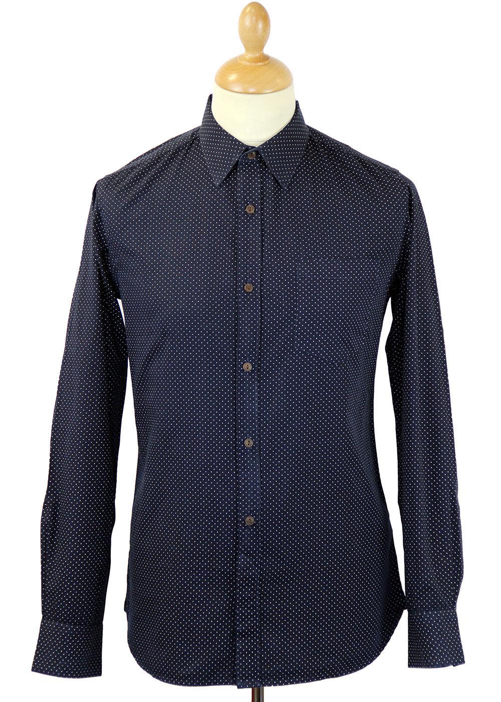 Charley French Connection Mod Polka Dot Shirt (MB)
