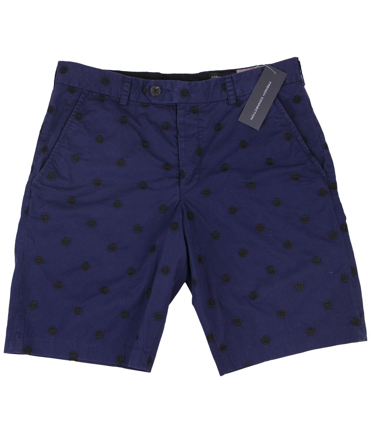 Isizwe FRENCH CONNECTION Retro Embroidered Shorts