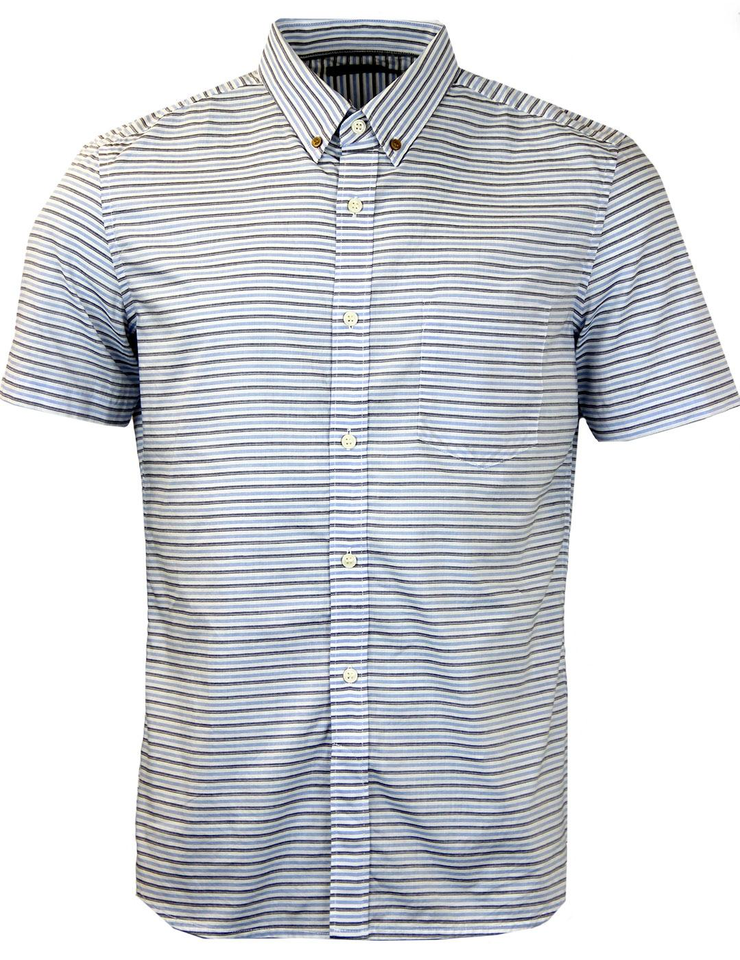 Boilly FRENCH CONNECTION Horizontal Stripe Shirt
